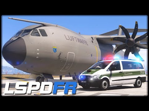 GTA 5 LSPD:FR #248 | Militär Transport Airbus A400M Atlas - Deutsch - Grand Theft Auto 5 LSPDFR
