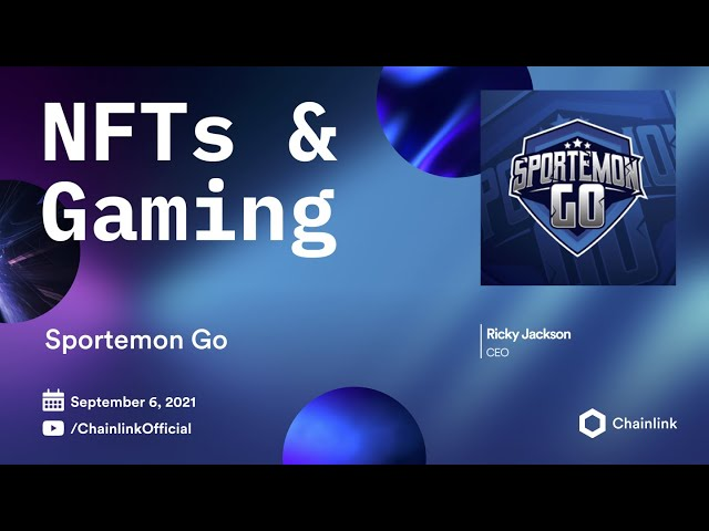 Sportemon Go on Chainlink Live | New Releases Using Chainlink VRF