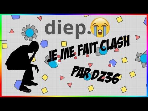 Je me fait clash par Dz36 !!! OMG (HUMILIATION) -Diep.io