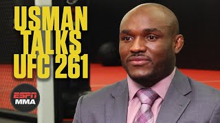 Kamaru Usman wants to break Jorge Masvidal's spirit at UFC 261 | ESPN MMA