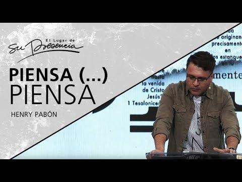 📺 Piensa (...) piensa - Henry Pabón - 13 Enero 2019 | Prédicas Cristianas 2019