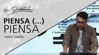 📺 Piensa (...) piensa - Henry Pabón - 13 Enero 2019 | Prédicas Cristianas 2019 thumbnail