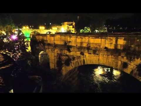Ponte Rotto o Emilio Isola Tiberina - Roma di Notte & Musica Chopin