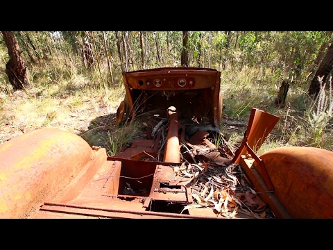 Abandoned Boomers Reserve Mine- Panton Hill