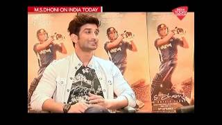 Sushant Singh Rajput Interview with India Today in New Delhi for M.S. Dhoni The Untold Story