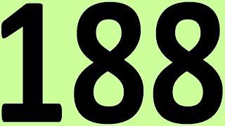 АНГЛИЙСКИЙ ЯЗЫК ДО АВТОМАТИЗМА ЧАСТЬ 2 УРОК 188 УРОКИ АНГЛИЙСКОГО ЯЗЫКА