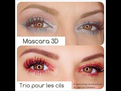 Des cils XXL avec Younique !!! Serum + Mascara 3D + Epic