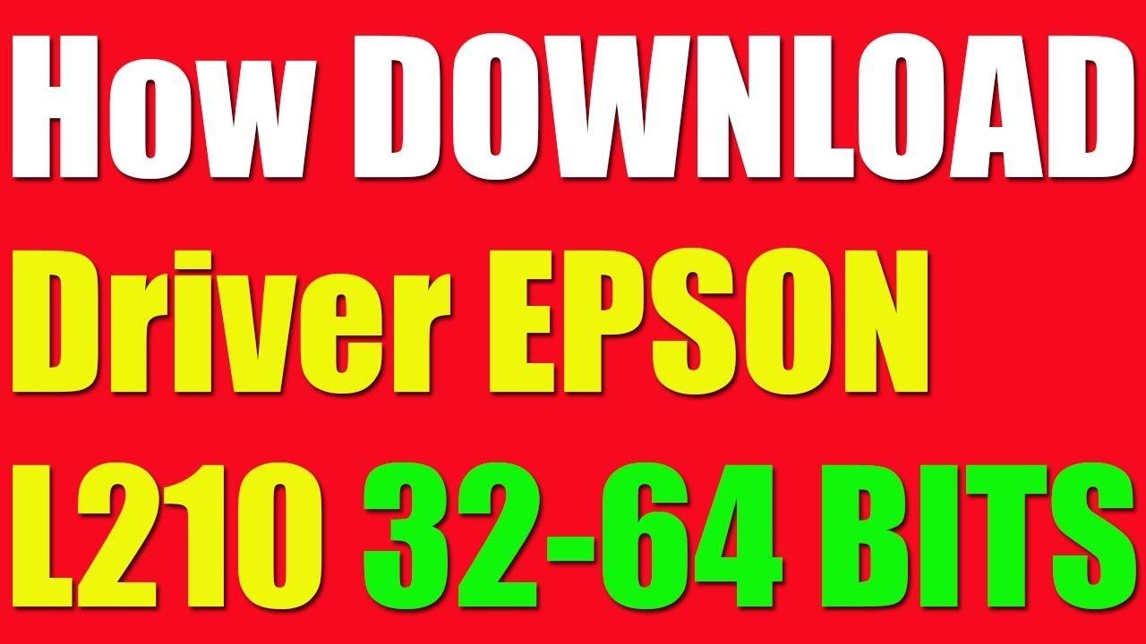 descargar drivers epson l210 win7