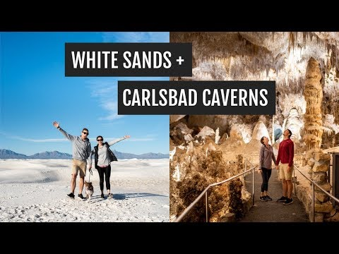 Weekend In New Mexico: White Sands, Las Cruces, & Carlsbad Caverns National Park
