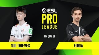CS:GO - 100 Thieves vs. FURIA [Vertigo] Map 1 - Group B - ESL NA Pro League Season 10