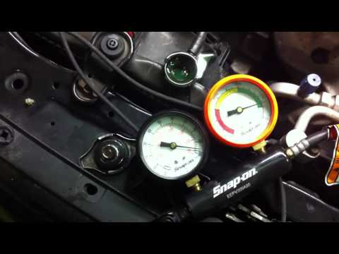 B16A2 Engine Cylinder #2 Leakdown Test Failure
