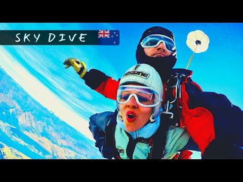 Sky Dive @ Queenstown, New Zealand - Nzone Skydive (9,000 Ft)