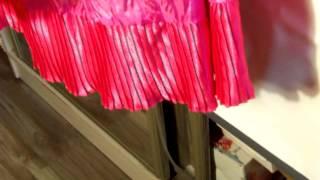 Малиновая турецкая нарядная юбка с гофрированным воланом(Яркая розовая юбка... гладкая блестящая... выполнена из вискозы... с подъюбником и гофрированным воланом по..., 2015-06-04T13:40:48.000Z)
