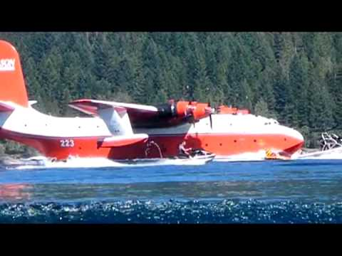 Martin Mars Water Bomber to be Retired