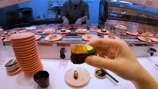 $1 Sushi Conveyor Belt Restaurant