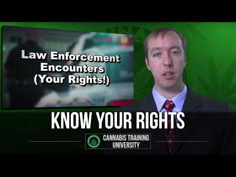 KNOW YOUR RIGHTS! MEDICAL MARIJUANA LAW! HOW TO DEAL WITH COPS! PART 1