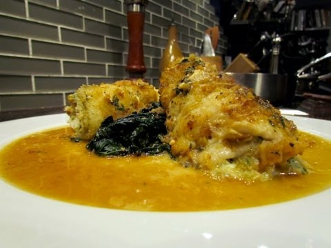 Crab Stuffed Sole