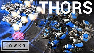 StarCraft 2: QUADRUPLE THOR DROP!