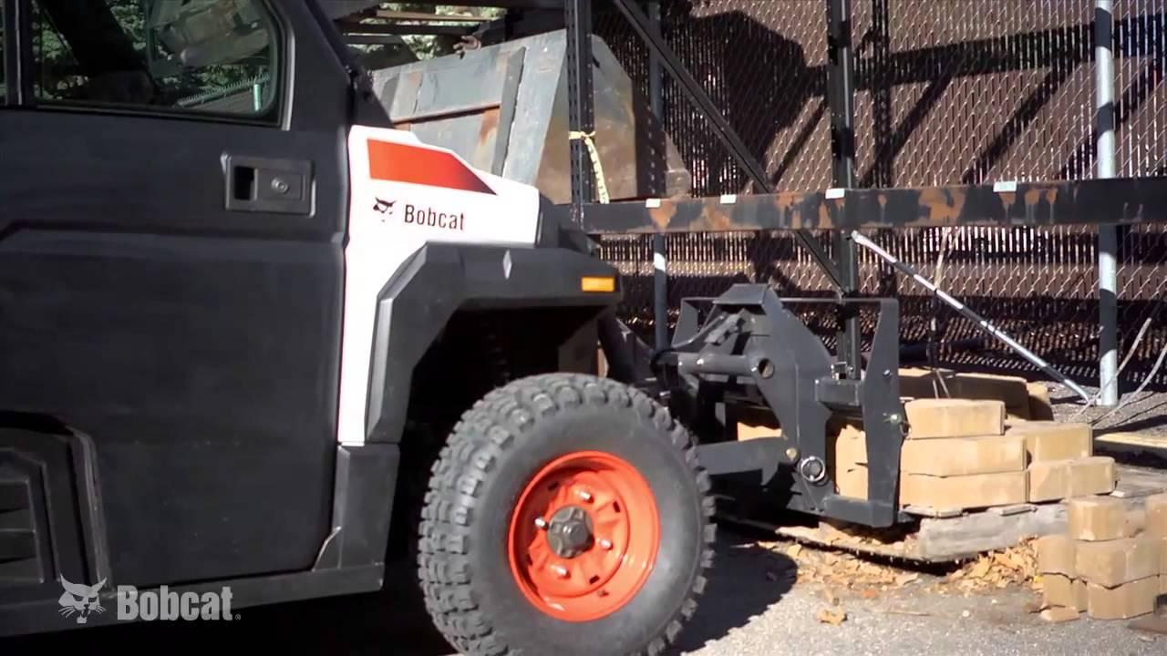 Bobcat 3650 Hydrostatic Utility Vehicle Utv Youtube