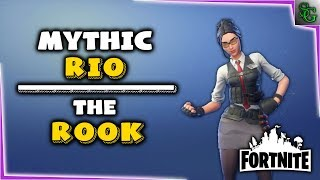 Fortnite - Hero Overview - Mythic Rook Rio (Outlander)