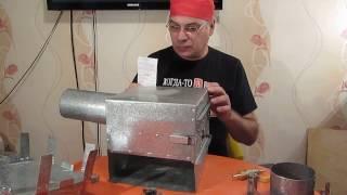 как сделать газовую печь своими руками