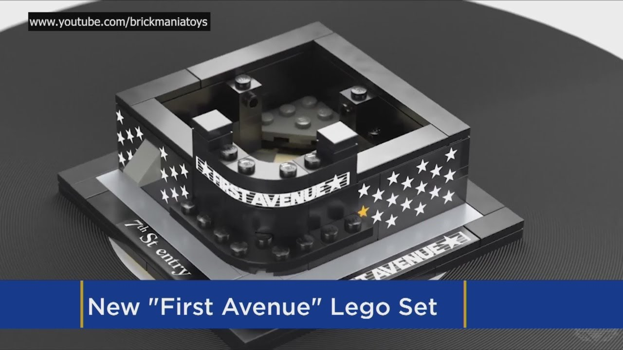 WANT: First Avenue Now Selling Custom Lego Building Set