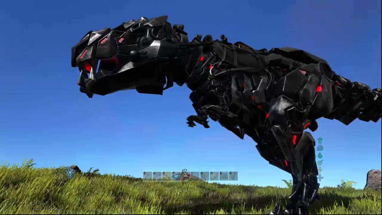 bionic rex ark survival evolved xbox one youtube