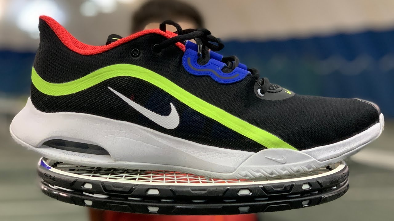 Nike Air Max Volley - Nike's NEWEST Tennis Shoe for 2021 Review and Playtest By Real Foot Doctor