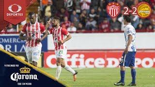 Resumen Necaxa 2 - 2 Pachuca | Clausura 2019 - J15 | Presentado por Corona