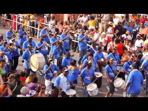 Gran Marcha, Karnaval Curacao,Carnival Curacao 2010 the sunday parade 02.mov