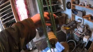Вязка веревки для полиспаса