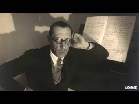 Igor Stravinsky- Funeral song, Op. 5/ Chant Funèbre opus 5