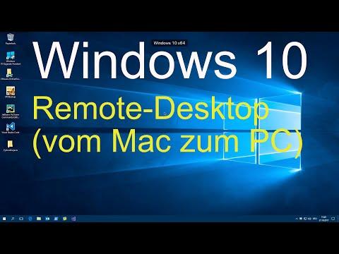 Windows 10 - Remote-Desktop Einrichten