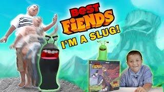 Mike Turns into a SLUG!!!! (Best Fiends KIDROBOT Vinyl Slugs Unboxing) FGTEEV EPIC SKIT thumbnail