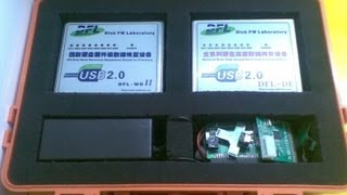 Data Recovery Hardware DFL-DE :Runs File Recovery Synchronously from Two Hard Drives