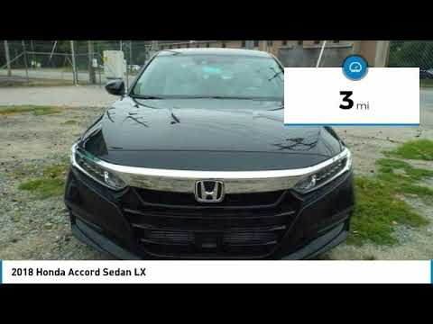 2018 Honda Accord Sedan Martin Honda Kia Mazda H183965
