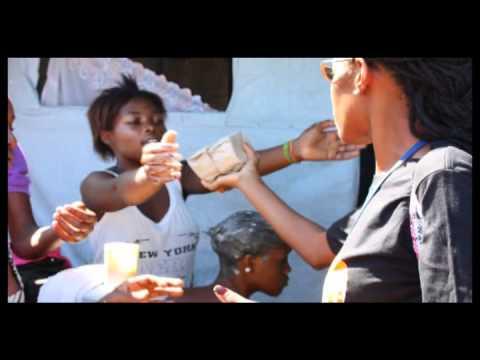 L'UNFPA HAITI AIDE À PRÉVENIR LE CHOLÉRA CHEZ LES PERSONNES VIVANT AVEC LE VIH/SIDA