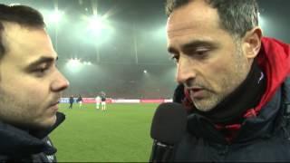 Post-Match-Interview nach FC Zürich - FC Sion (1:0)