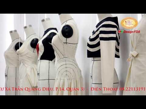 Video Fashion draping - Học Dựng Rập 3D Trên Mannequin
