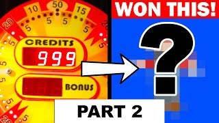 Playing 999 Coins in a Coin Pusher!! Part 2 - Wizard of OZ Experiment