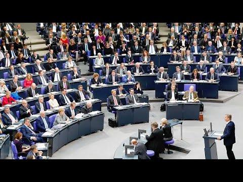Wolfgang Schaeuble toma las riendas del Bundestag