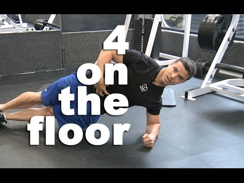 4 On The Floor Quick Abs Workout