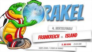 Tartagoal Orakel – Viertelfinale – Frankreich vs. Island