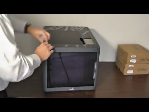 Sindoh DP200 3Dwox 3D Printer - Unboxing and First Look