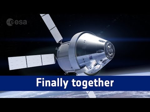 Orion's service and crew modules – Finally together