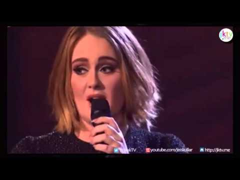 Funny Adele Interview on X Factor Final (UK) - 13th Dec 2015