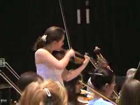 HUBAY: Violin Concertos (Hanslip, Bournemouth Symphony, Mogrelia) [Naxos 8.572078] - Clip 1