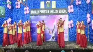 Pak Folk Song Performed by Students of Hawally Pakistan English School Kuwait on Graduation Ceremony