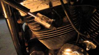spark plug test with bad ignition timing, from sportster problem 28
