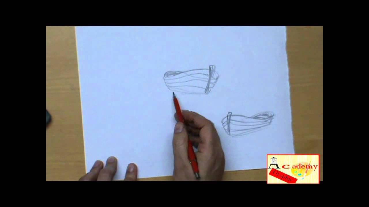 Eccezionale come si disegna una barca - YouTube VZ56